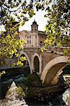 Ponte Cestio, Rome, Italy
