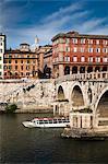 Ponte Sisto, Trastevere, Rome, Italy
