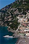 Positano, Amalfi Coast, Province of Salerno, Campania, Italy