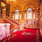 Belfast City Hall, Belfast, Co Antrim, Ireland; 19Th Century Grand Staircase