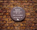 82 Merrion Square, Home Of W. B. Yeats, Dublin, Co Dublin, Ireland