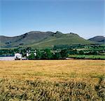 Mourne Mountains, Near Hilltown, Co Down, Ireland; Irish Landscape
