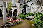 Jardin de la Villa Rufulo, Ravello, Campanie, Italie