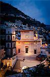 Positano à nuit, Campanie, Italie