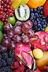 Variété de fruits vibrant