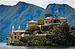 Villa del Balbianello, Lenno, lac de Côme, Lombardie, Italie
