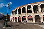 Arena di Verona, Piazza Bra', Verona, Veneto, Italy