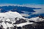 View from Jungfraujoch, Jungfrau Region, Bernese Oberland, Switzerland