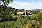 Lagrasse Abbey, Lagrasse, Aude, Languedoc-Roussillon, France
