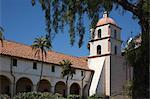 Mission de Santa Barbara, Santa Barbara, Californie, USA
