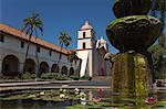 Mission Santa Barbara, Santa Barbara, Californie, USA