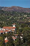 Church in Santa Barbara Hills, Santa Barbara, California, USA