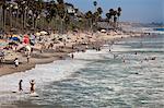 Plage de San Clemente, Orange County, Californie, Etats-Unis