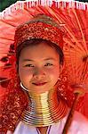 Thailand,Chiang Rai,Long Neck Karen Hilltribe,Long Neck Girl