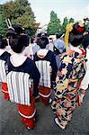 Japon, Tokyo, Geishas Jidai Matsuri Festival tient chaque année en novembre à Sensoji Temple Asakusa