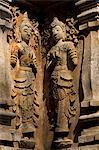 Thaïlande, Chiang Mai, Wat Jet Yot Statue en détail