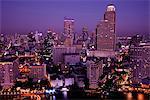 Thailand,Bangkok,City Skyline and Chao Phraya River