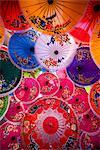 Thailand, Chiang Mai Umbrella Display Borsang Village