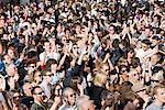 Menschenmassen beim Notting Hill Carnival, London
