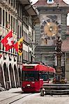 Streetcar in Bern, Switzerland