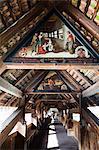 The Dance of Death Paintings, Mill Bridge, Lucerne, Switzerland