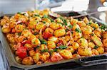 Close-up of Potato Dish, Arles, Bouches-du-Rhone, Provence, Provence-Alpes-Cote d'Azur, France, Europe