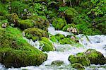La rivière soca, Slovénie