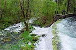 Barrage de la rivière Soca, Slovénie