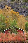 Cabane dans les montagnes