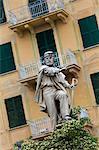 Statue, Santa Margherita Ligure, Province de Gênes, côte ligure, Italie