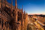 Province de Milan cathédrale, Milan, Milan, Lombardie, Italie