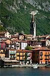 Varenna, lac de Côme, la Province de Lecco, Lombardie, Italie