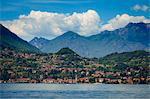 Menaggio, lac de Côme, la Province de Côme, en Lombardie, Italie