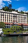 Grand Hotel Tremezzo, Tremezzo, lac de Côme, la Province de Côme, Lombardie, Italie