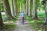 Man Biking, France