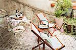 Balcony, Caunes-Minervois, Aude, Languedoc-Roussillon, France