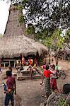 Waihola village, Sumba (Indonésie)