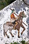 Pasola Horseman Monument, Waikabubak, Sumba, Indonesia