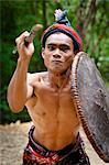 Traditional Dancer, Nihiwatu, Sumba, Indonesia