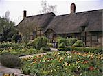 Cottage d'Anne Hathaway, future épouse de lieu de naissance et l'enfance Accueil de Shakespeare, village de Shottery, près de Stratford-upon-Avon, Warwickshire, Angleterre, Royaume-Uni, Europe