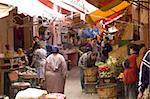 Alte Medina, Casablanca, Marokko, Nordafrika, Afrika