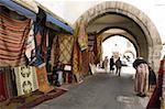 Quartier Habous, Casablanca, Maroc, l'Afrique du Nord, Afrique