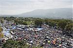 Memorial Day Feier einen Monat nach dem Erdbeben von Januar 2010 Port au Prince, Haiti, West Indies, Karibik, Mittelamerika