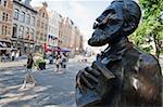 Statue of Charles Karel, Brussels, Belgium, Europe