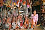 Market, Yangon (Rangoon), Myanmar (Burma), Asia