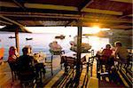 Oia (Ia), l'île de Santorini (Thira), Iles des Cyclades, Aegean, îles grecques, Grèce, Europe