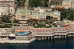 Vue depuis l'hélicoptère du Casino, Monte Carlo, Monaco, Côte d'Azur, l'Europe