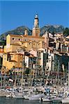 Menton, Cote d'Azur, Alpes-Maritimes, Provence, Côte d'Azur, France, Méditerranée, Europe