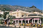 Cafe de Paris, Monte Carlo, Monaco, Cote d'Azur, Mediterranean, Europe