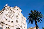 Cathedral, Monaco, Cote d'Azur, Mediterranean, Europe